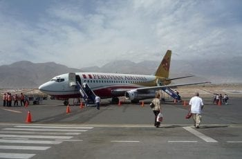 Vuelo a Arequipa de Peruvian Airlines