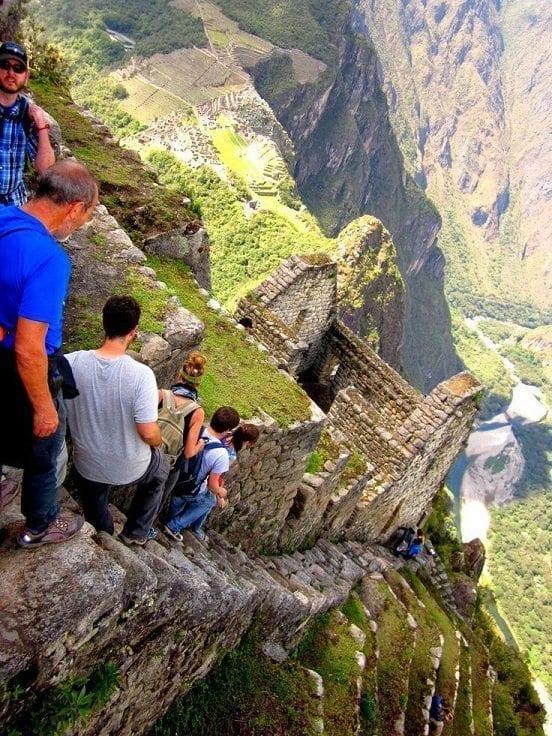 Una montaña peruana para admirar