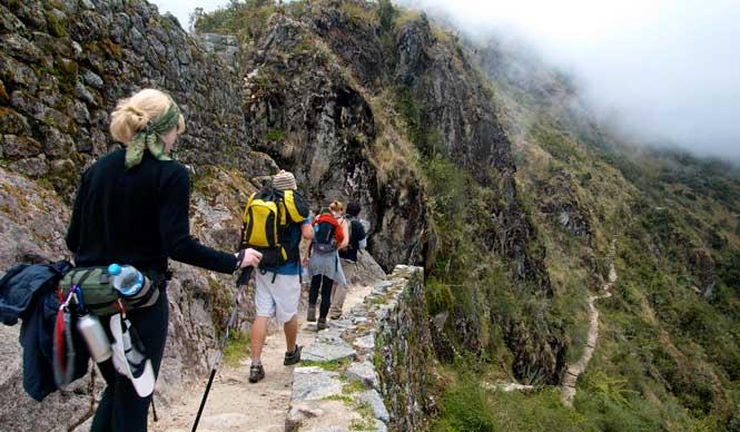 """Un apropiado """"cariñito"""" para el camino inca a Machu Picchu  en febrero 2017"""