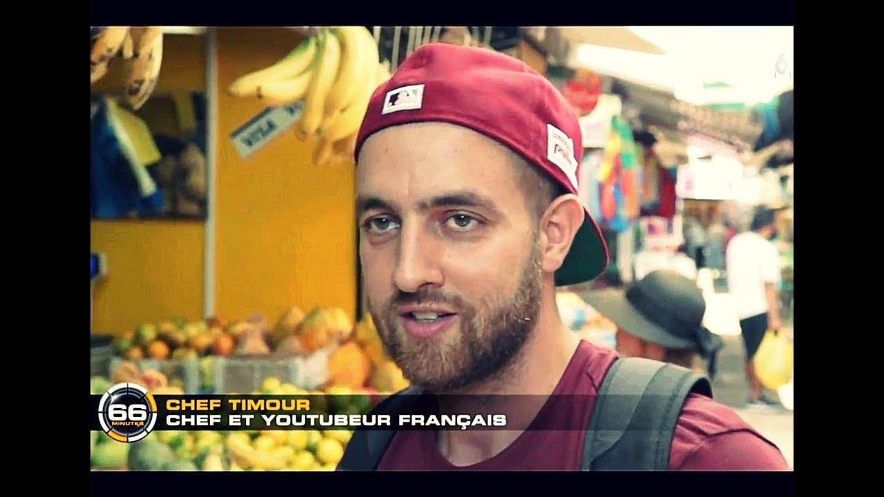 Chef Timour nos lleva a la television francesa