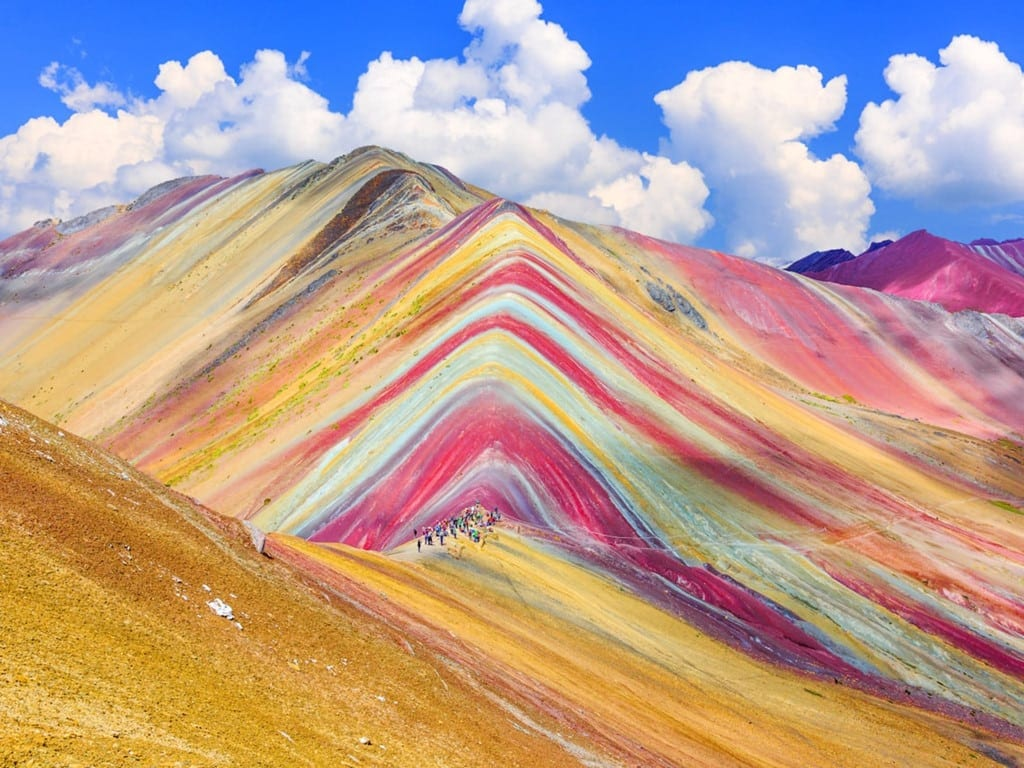 Conoces la Montaña de siete colores o Vinicunca