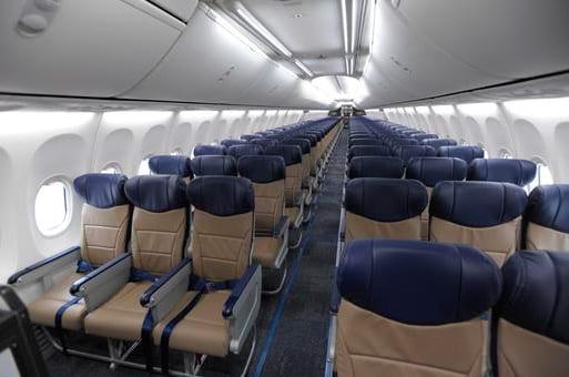 Boeing-737-500 por dentro
